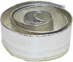 """Heat Shroud Aluminized Sleeving with Hook and Loop Closure 1"""" x 36"""" (3ft) image 4"""