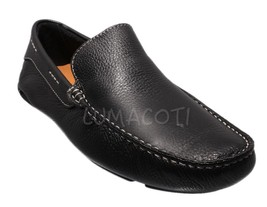 Mens Giorgio Brutini Le Glove Trayger Black Slip-On Loafer 479041 - $70.17 CAD