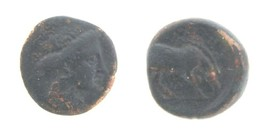 400-344 BC Larissa Thessalay AE16mm Coin VF Nymph Horse Greece Greek Cop... - $140.29