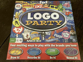 Logo Party Board Game By Spin Master  - $18.81