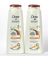 2 Dove Nourishing Secrets 13.52 Oz Restoring Ritual Coconut Oil Turmeric... - $23.99