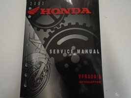 2002 HONDA VFR800/A VFR 800A Service Repair Shop Manual Factory OEM Book Used - $47.47
