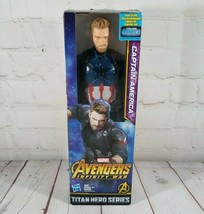 Avengers: Infinity War Titan Hero Series Captain America 12-Inch Action Figure - $17.41
