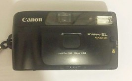 Vintage Canon Snappy El Macro 35mm 1:3.8 0.5m/1.7ft - $13.05