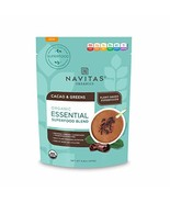 Navitas Organics Essential Superfood Protein Blend, Cacao & Greens, 8.8o... - $18.81