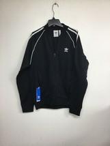 Adidas Men's SST TT  Track Jacket Black CW1256 Medium. New Without Tags - $55.14