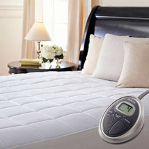 Sunbeam Premium Quilted Heated Electric Mattress Pad-Cal King - $114.99