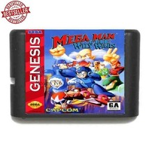 Mega Man The Wily Wars MD Game 16bit Sega Mega Drive Genesis Handheld Co... - $12.99