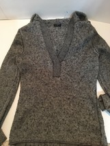 J.Crew Hooded Light Sweater (Grey) - $19.79