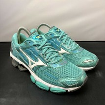 Mizuno Running Wave Creation 19 Teal Road Race Shoes Womens Size 8 Fast ... - $63.70