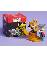 LootCrate Marvel Thor vs Loki Collectible Collectors Mini Figure New in Box - $11.87