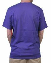 Raza Mens Black or Purple Lucha Libre Luchador Wrestling Campeon Mask T-Shirt NW image 3