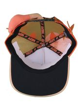 Neff Men's Orange Lion Leo Snapback Baseball Hat Cap w Tail NWT image 7