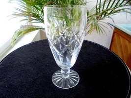 Stuart of England Clear Crystal Highball Glass Signed - $21.77