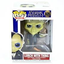 Funko Pop! Movies The Addams Family Lurch with Thing #805 Vinyl Figure image 1