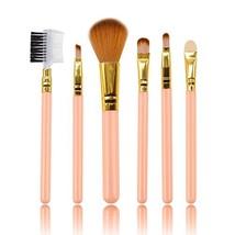 Luismia Makeup Brush Set,6 Piece Collection with Blush Brush, Light Blue... - $8.37