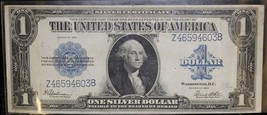 1923 Fr 237 Extra Fine United States One Dollar Silver Certificate - $74.95