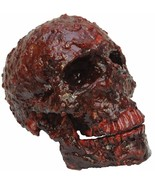 HALLOWEEN  BLOOD SCAB RESIN SKULL CEMETARY  HAUNTED HOUSE  PROP DECORATION - $25.95