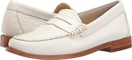G.H. Bass & Co. Women's Whitney Penny Loafer, White, 8.5 M US - $61.52