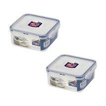 2 X Lock & Lock Square Food Container 600ml(20.3oz) - $27.31