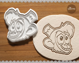 Aladdin And Abu Cookie Cutters. Set. Bakeware. Soap Stamp. 3D Printed. E... - $9.55+