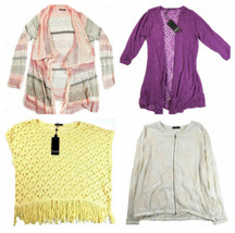 1X Plus Women's Point Zero Curvy Sweater Jacket Group 2 NEW