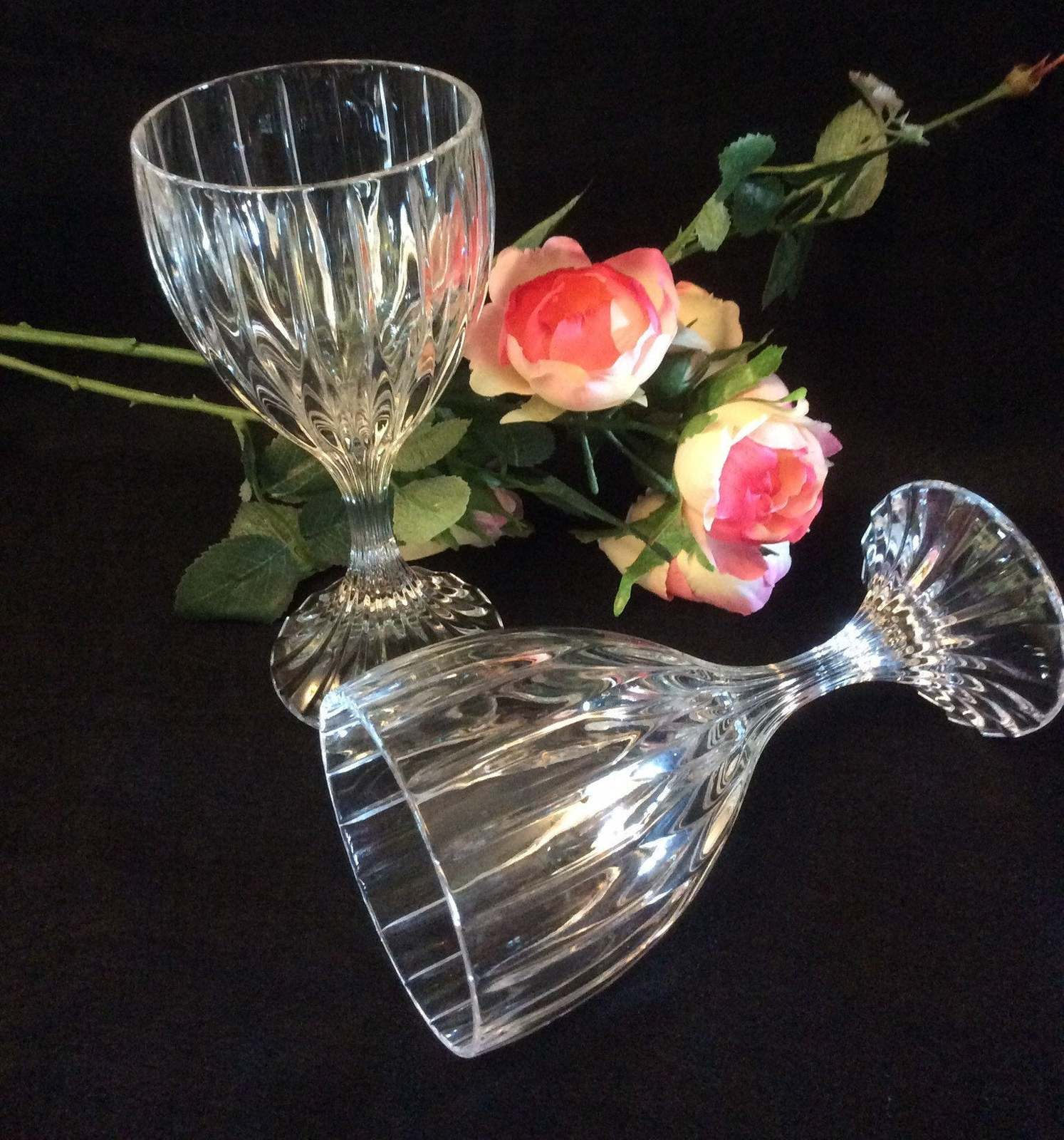 Primary image for 4 - Goblet, Mikasa Park Lane Crystal Water Goblets