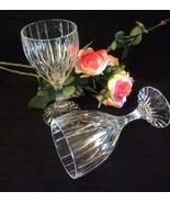 4 - Goblet, Mikasa Park Lane Crystal Water Goblets - $95.00