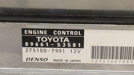 Lexus Is250 Engine Control Unit Module ECU ECM 89661-53581 image 4