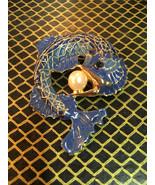 Beautiful vintage dolphin nautical brooch - $10.00