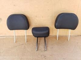 17-19 Kia Soul Rear Back Cloth 3 Headrests Headrest Set