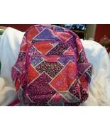 Vera Bradley Campus Backpack in Modern Medley Pink Purple Large Laptop - $39.99
