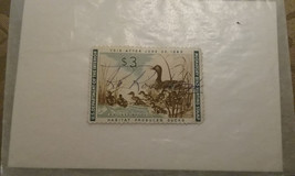 1962 FEDERAL MIGRATORY DUCK BIRD HUNTING STAMP RW29 , SIGNED - $5.94