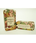 TWO Crabtree & Evelyn Crabapple & Mulberry Triple Milled Soaps - $9.99