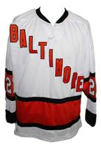 Custom Name # Baltimore Clippers Retro Hockey Jersey 1970 New White Any Size image 3