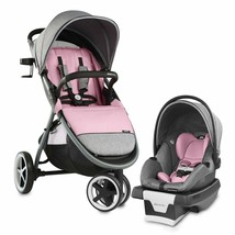 Evenflo Baby Stroller with Car Seat Travel System Infant Sensor - Pink - $371.52