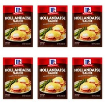 6 McCormick Hollandaise Sauce Seasoning Mix 1.25oz Packets Expiration 7/22 - $25.97