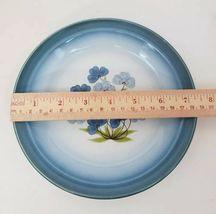 """Nikko Gradiance Bread Plate Set of 4 Azure Leafette Dish Microwave Safe 7.5"""" image 10"""