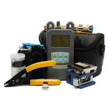 Fiber Optic FTTH Tool Kit with FC-6S Fiber Cleaver and Optical Power Met... - $110.40