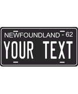 Newfoundland 1962 Tag License Plate Personalized Auto Bike Motorcycle Moped - $10.99+