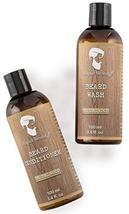 Beard Shampoo and Beard Conditioner Wash & Growth kit for Men Care - Sandalwood  image 3