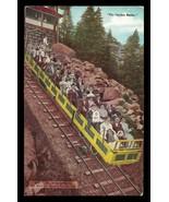 Mt Maniton Incline Railroad Postcard Colorado Scenic Incline Car Smile C... - $16.50