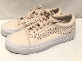 Vans Womens Lace up Shoes Sneakers Size 6 Herringbone - $27.55