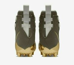 Nike Force Savage Elite TD Mens Football Cleat Olive Green Gold AH6424 271 image 5