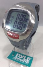 Pyle Sport PSWMR40GY New Marathon Mens Watch W/ Time Set & Alert Chronog... - $29.65