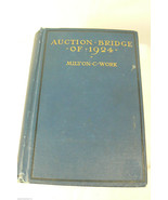 VTG Auction Bridge of 1924 Milton C. Work book - $23.76
