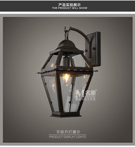 Cambridge Sconce E14 Light Wall Lamp Waterproof Outdoor / Indoor Lighting Fixtur - $123.67