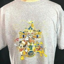 Disneyland 50th Anniversary Happiest Homecoming On Earth T-Shirt XL Mens 2005 - $19.20