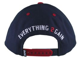 DGK Dirty Ghetto Kids Navy Red Nothing To 2 Lose Snapback Baseball Hat NWT image 3