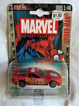 Maisto Marvel Die-Cast Collection Series #2 Spider-Man Chevrolet Corvett... - $5.08